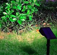 זוג ספוטים סולאריים פאנל מובנה